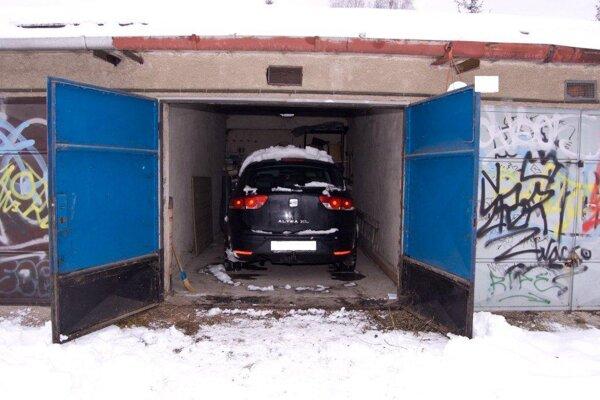 Auto ukradli ešte vlani v januári.