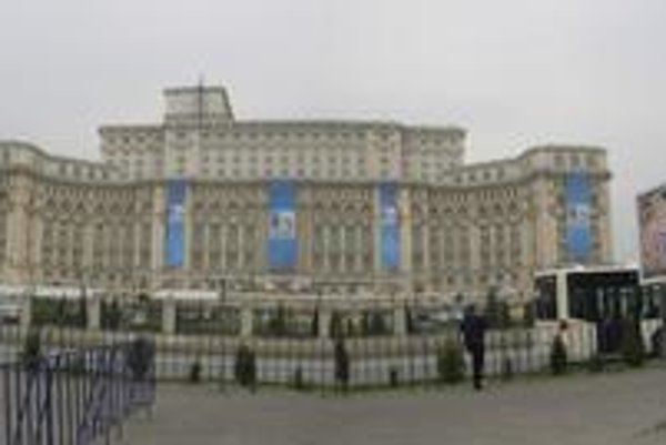Parlamentný palác.
