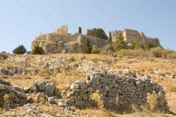 Johanitská pevnosť nad Lindosom.