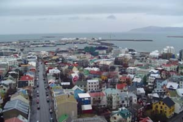 Reykjavík, hlavné mesto Islandu.