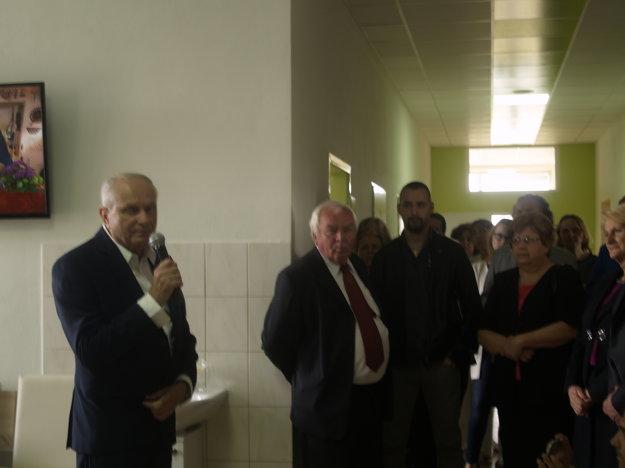 Hostí privítal riaditeľ VšNsP Július Hoffer