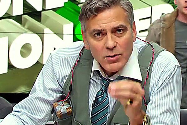 George Clooney vo filme Money Monster.
