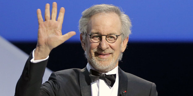 Steven Spielberg v Cannes.