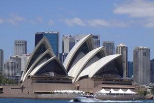 Opera v Sydney, Austrália.