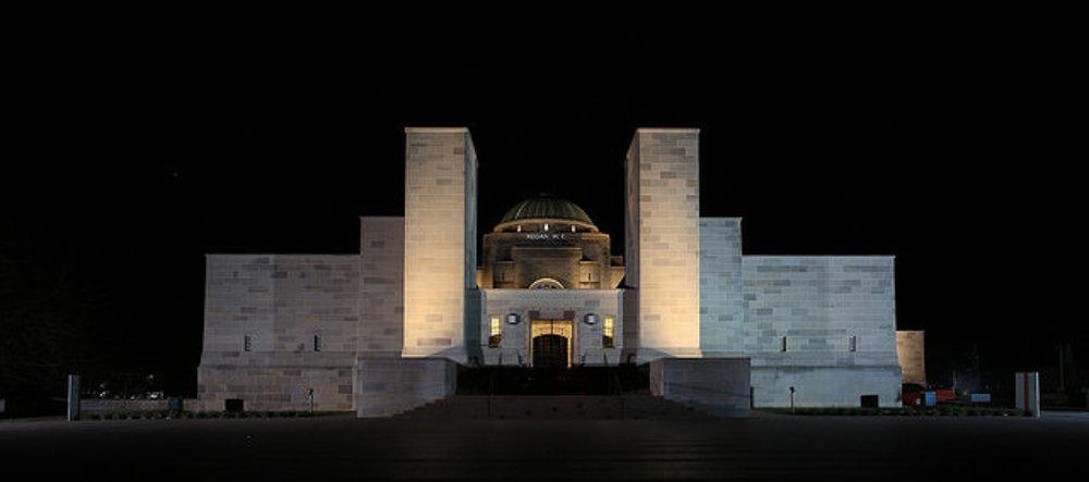 Austrálsky vojnový pamätník, Canberra.