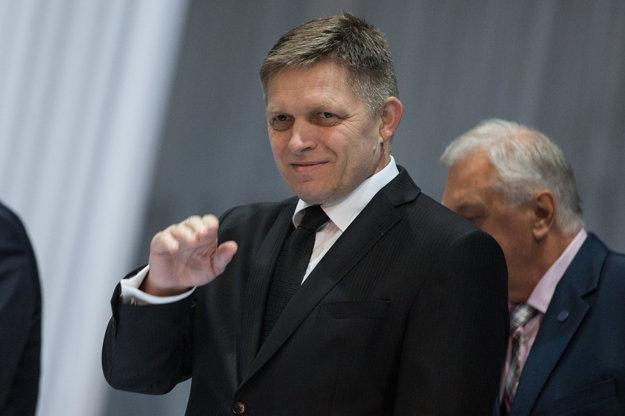 Robert Fico na sneme Združenia miest a obcí Slovenska.