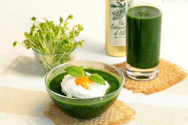 Zelené smoothie z lobody