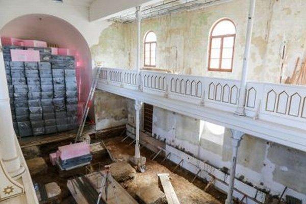 Na záchranu čakala hodnotná stavba dlhé roky.