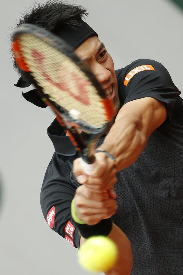 Kei Nišikori nemal v zápase druhého kola výraznejšie problémy.