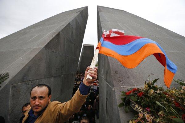 Pamätník arménskej genocídy.