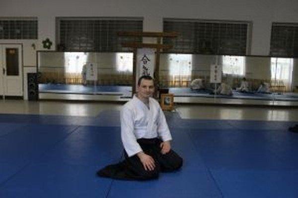 Jozef Petka cvičí aikido už 20 rokov