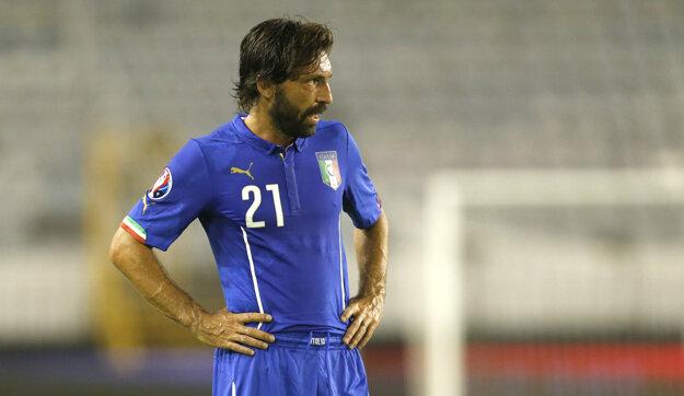 Andrea Pirlo odohral v drese národného tímu 116 zápasov.