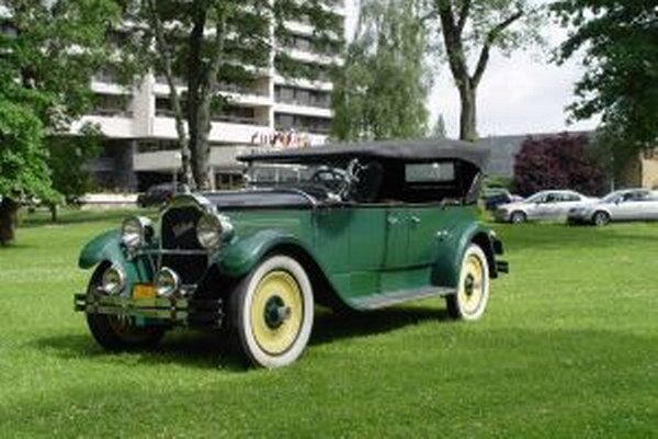 Packard Six je z roku 1925.