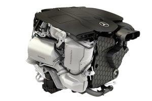 Štvorvalec s interným označením OM 654 je prvým z novej modulárnej rodiny turbodieselov