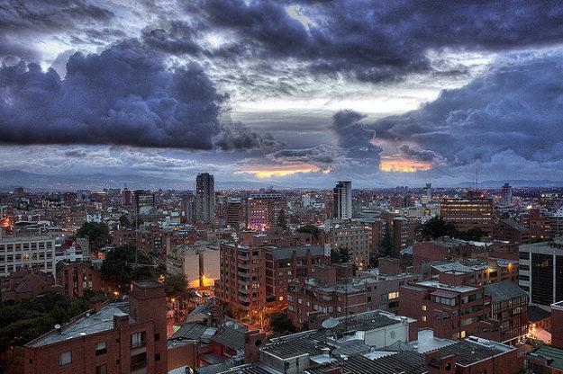Bogota je tretie najvyššie položené hlavné mesto v Južnej Amerike.