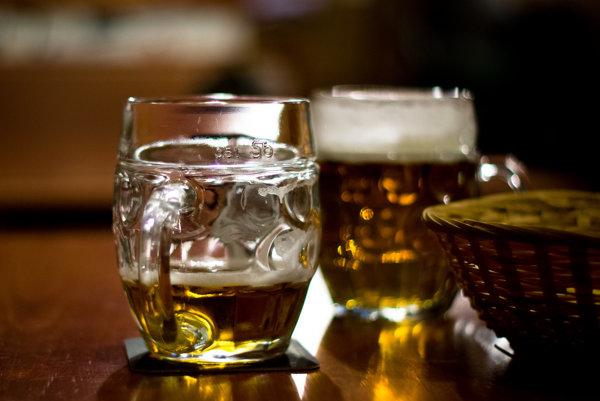 Dva piva. šak sme na vichodze...