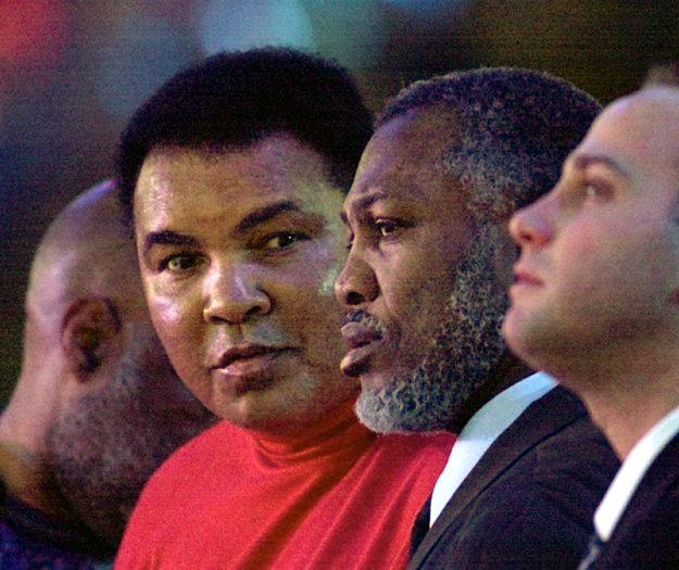 Ali a Frazier 27 rokov po ich slávnom filipínskom boji.