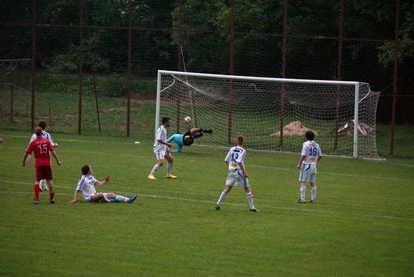 Selce strieľajú domácemu Lieskovcu gól.