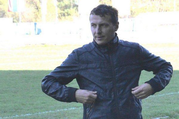 Tomáš Boháčik, tréner mužského tímu LAFC Lučenec.