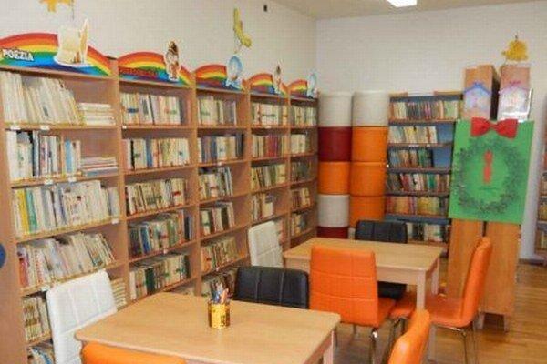 Priestory knižnice v Kysuckom Novom Meste.