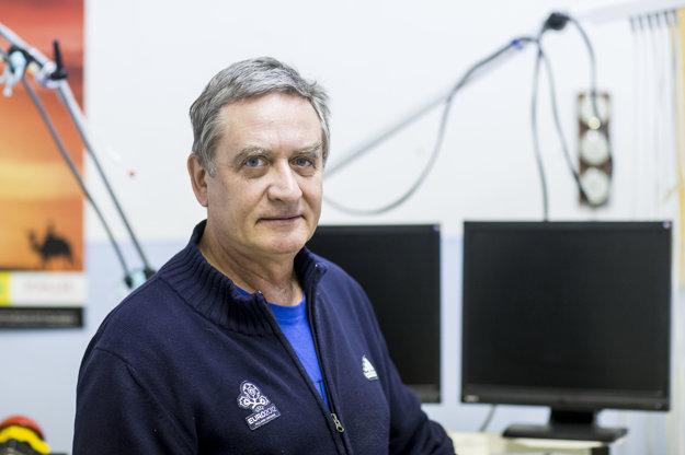 Telovýchovný lekár Pavel Malovič.