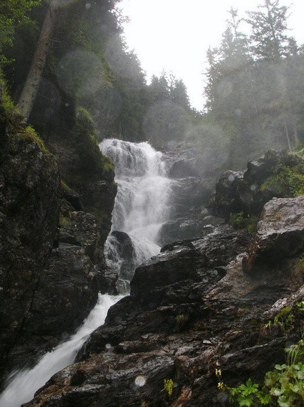 Riesachské vodopády.