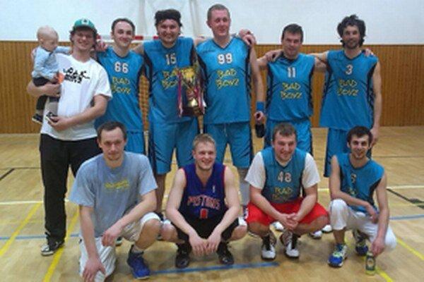 Bad Boyz získali tretí titul KBL vrade.