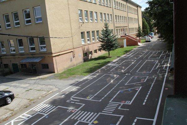 Obnovené dopravné ihrisko.