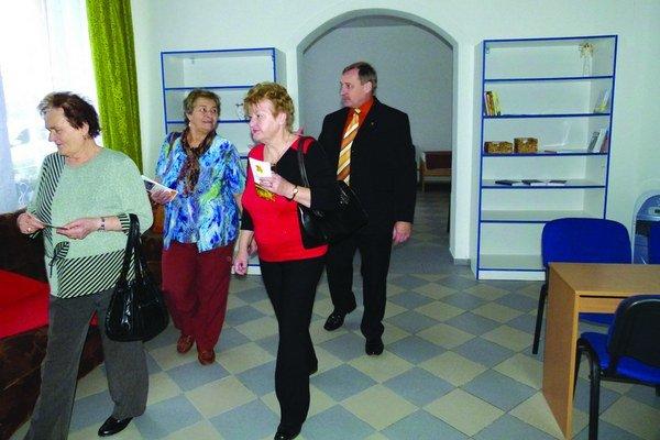 Aj v Leviciach už funguje denný stacionár pre seniorov - tzv. škôlka.