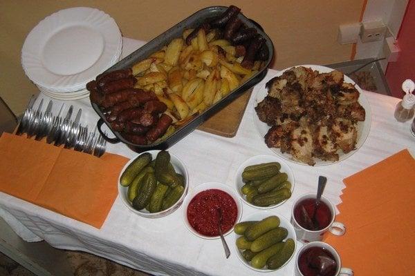 Tradičné vianočné jedlo Slovákov žijúcich na Dolnej zemi.