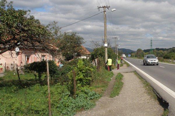 Osada Domky pri Kozárovciach.