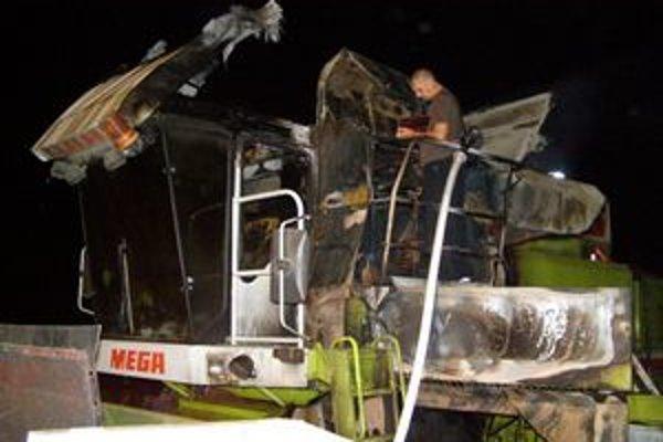 Hasiči hasili oheň aj v septembri minulého roka v katastrálnom území obce Čankov.