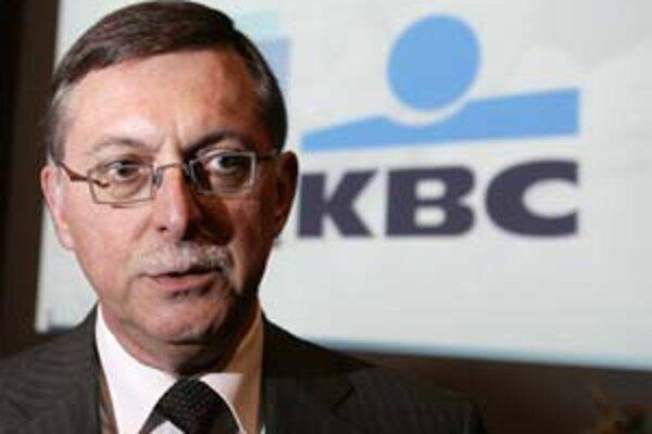 Belgická spoločnosť KBC odkúpila Istrobanku. Na snímke šéf KBC Andre Bergen.