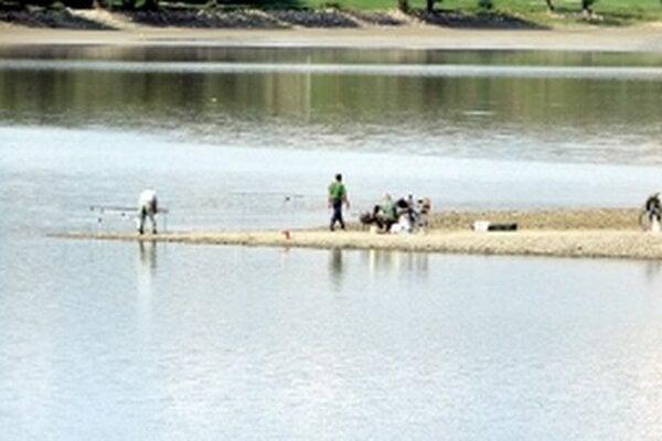 Rybári na Kunovskej.
