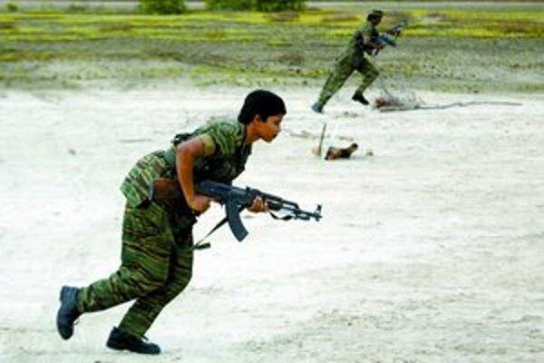Tamilskí tigri v akcii na severe ostrova.