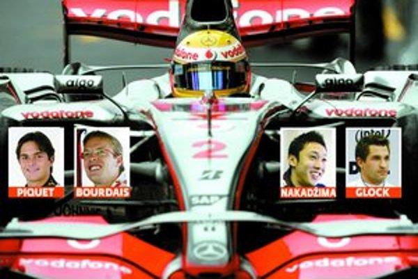 Lewis Hamilton (v monoposte McLaren) vlani ako nováčik vo formule 1 útočil na titul. Tohto roku sa mu pokúsia priblížiť Nelsinho Piquet v Renaulte, Sébastian Bourdais v Toro Rosso, Kazuki Nakadžima vo Williamse a Timo Glock v Toyote.