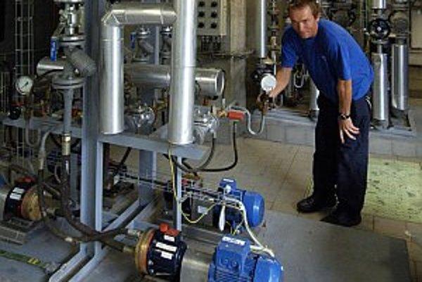Prevádzka na výrobu biozložky do nafty v areáli akciovej spoločnosti Setuza, Ústí nad Labem, ČR.
