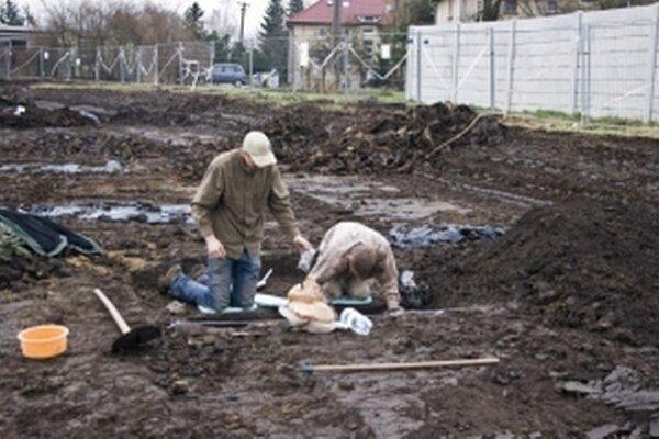 Z predošlých archeologických výskumov v Senici.
