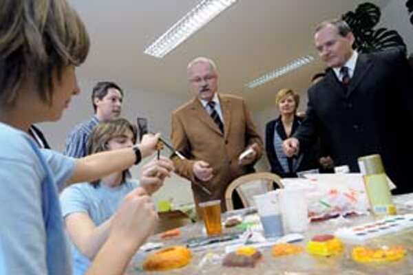 Prezident Gašparovič v Košiciach navštívil aj Spoločenskorelaxačné centrum na Ulici milosrdenstva.