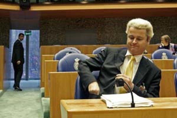 Geert Wilders popri politike stíha písať scenáre o islame.