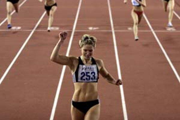 Miriam Bobková vyhrala v Eláne šprint nad prekážkami s veľkým náskokom pred súperkami.