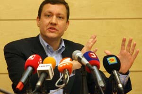 Daniel Lipšic včera nevystúpil na pôde KDH.