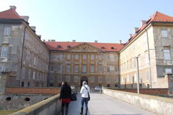 Na zámku v Holíči bolo cez víkend rušno.