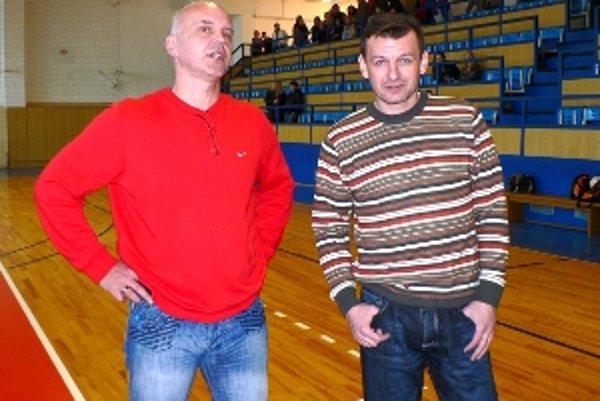Medzi osobnosti turnaja patrili Edo Kopča (vľavo) a Dušan Rupec.