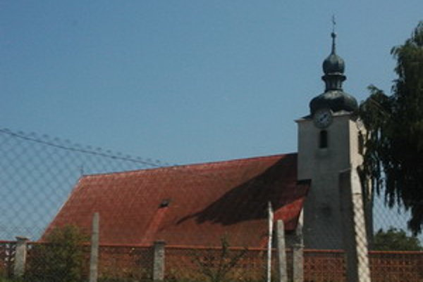 Kostol v Osuskom.