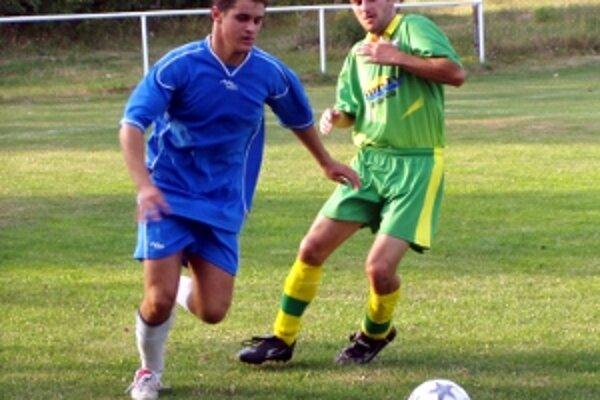 Ilustračné foto zo zápasu Cerová - Brodské.
