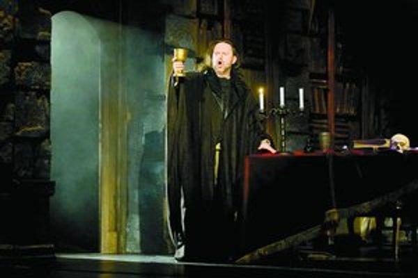 Ľudovít Ludha v Troškovej verzii Fausta a Margaréty.