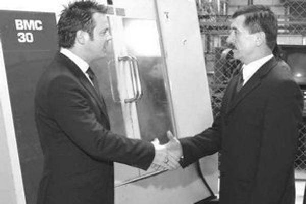 Jozef Zanovit (sprava) a Eduard Šustr.