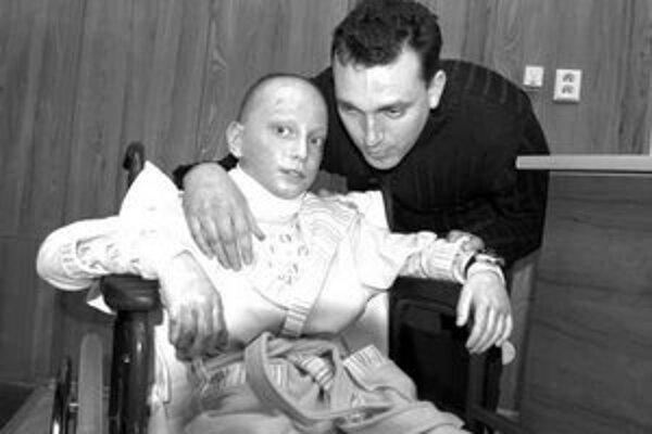 Jakubko s otcom.