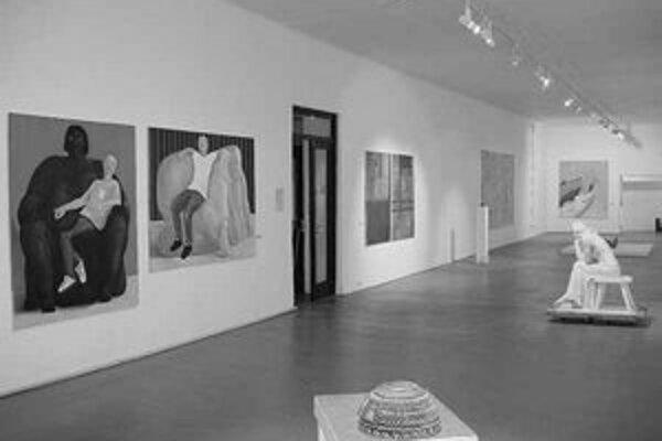 Ke–ba–bb v Považskej galérii umenia v Žiline.